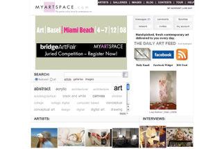 Mysartspace_home_sc